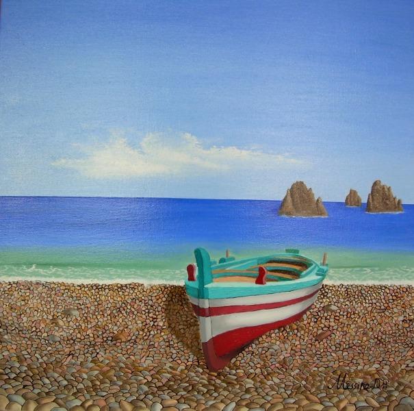 Riva damiano messina pittore painter for Disegni di paesaggi di mare